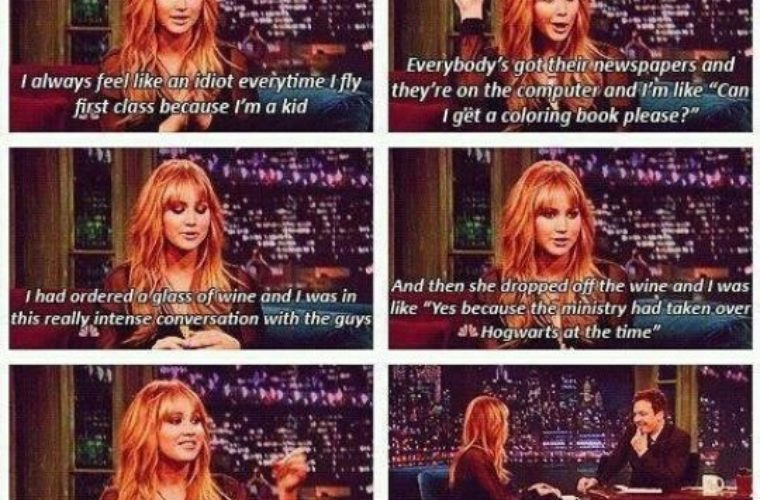 Further proof that Jennifer Lawrence