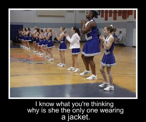Funny Meme To Cheer Someone Up : Cheerleader funny pictures quotes memes jokes