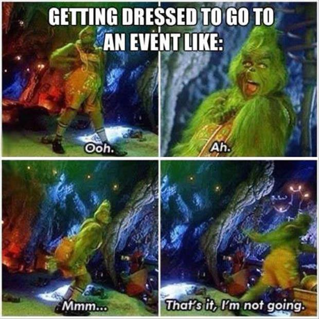 Getting Dressed For An Event