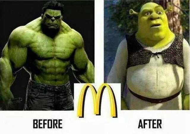 Fast Food Effects On Health Funny Pictures Quotes