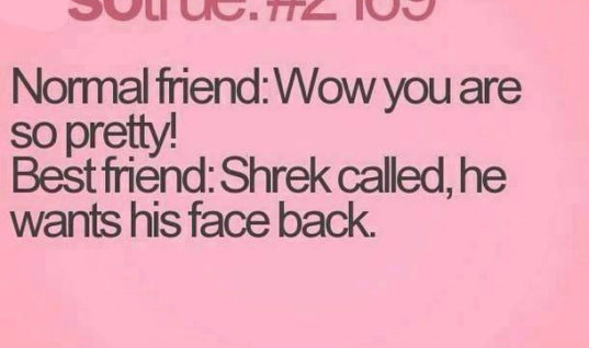 How Best Friends say