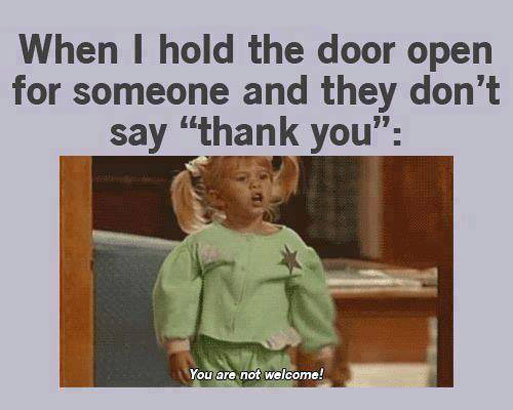 Funny Meme To Say Thank You : They say don t cry because it s over bu by ravinder singh