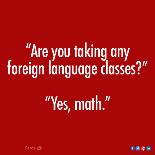 Foreign Language Classes   Funny Pictures, Quotes, Memes, Jokes