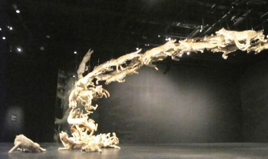 """""""Head On"""" by Artist Cai Guo-Qiang: A Majestic Work"""