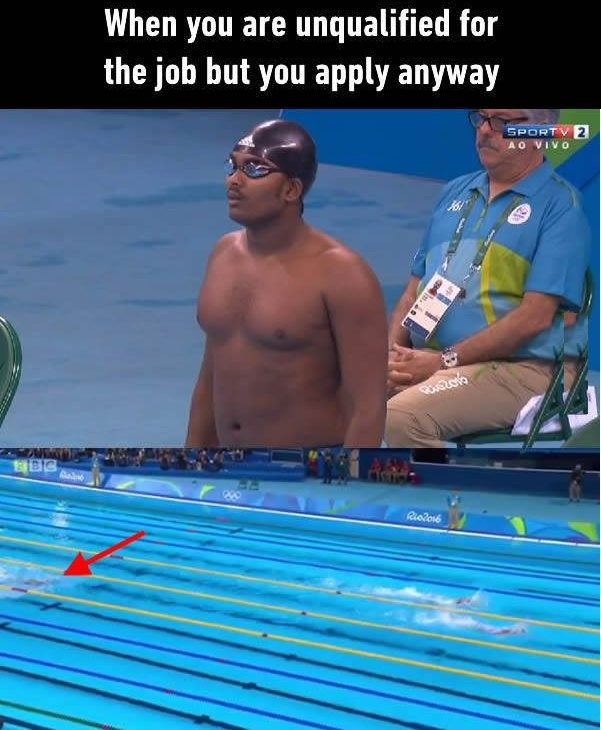 Unqualified For Job