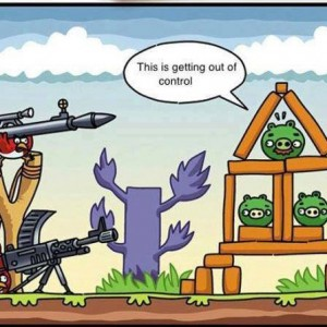 Advanced Angry Birds
