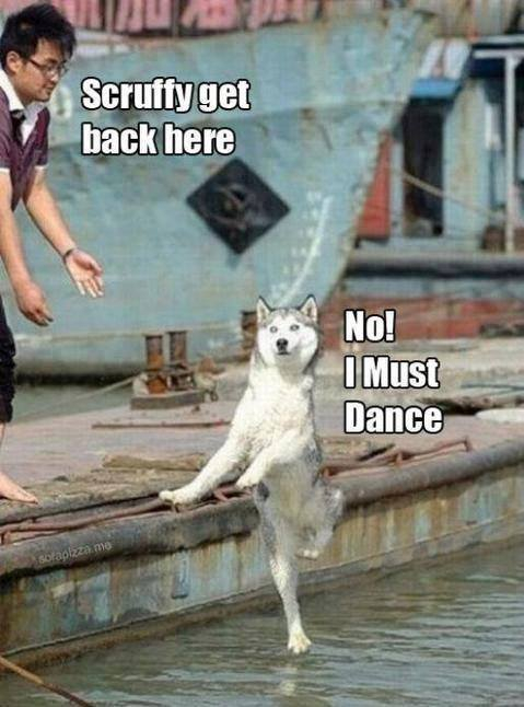 Dance on water
