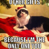 I destroyed other gifts