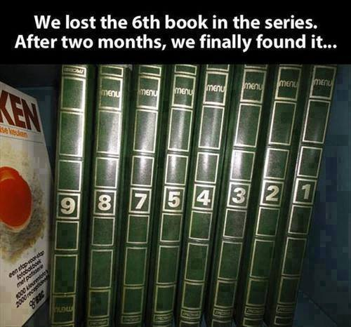 6 and 9 are upside down