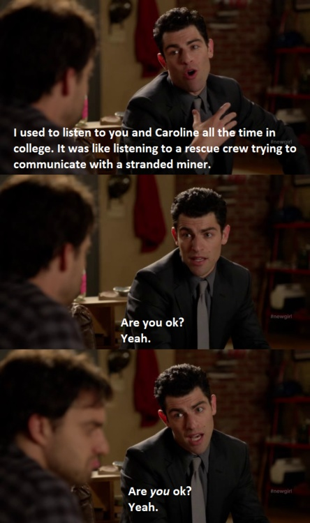 4 QUotes: New Girl Quotes Funny Pictures, Quotes, Memes, Jokes
