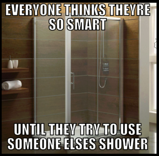 Everyone thinks they're smart!