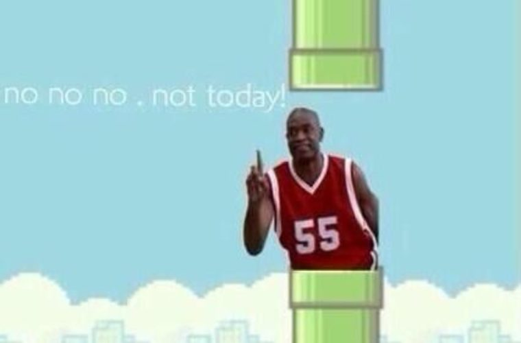 I think this is how i die on flappy bird LOL