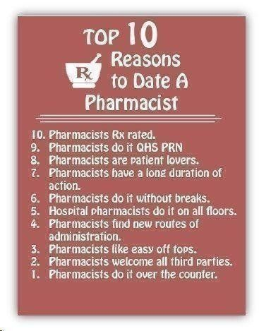 pharmacist dating tech Start studying pharmacy dosage calculations learn vocabulary, terms, and more with flashcards, games, and other study tools.