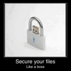 Secure your files