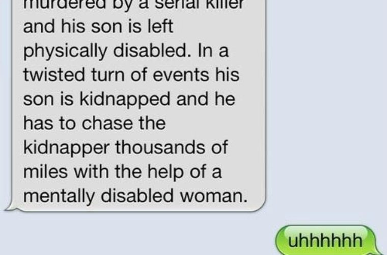 Too Funny Text Message