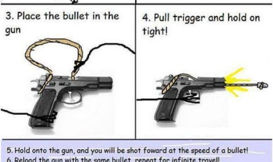 Fly at the speed of a bullet