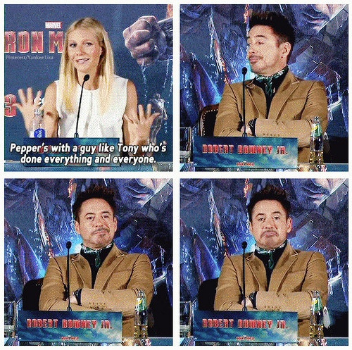 Gwyneth Paltrow et Robert Downey Jr – Iron Man 3