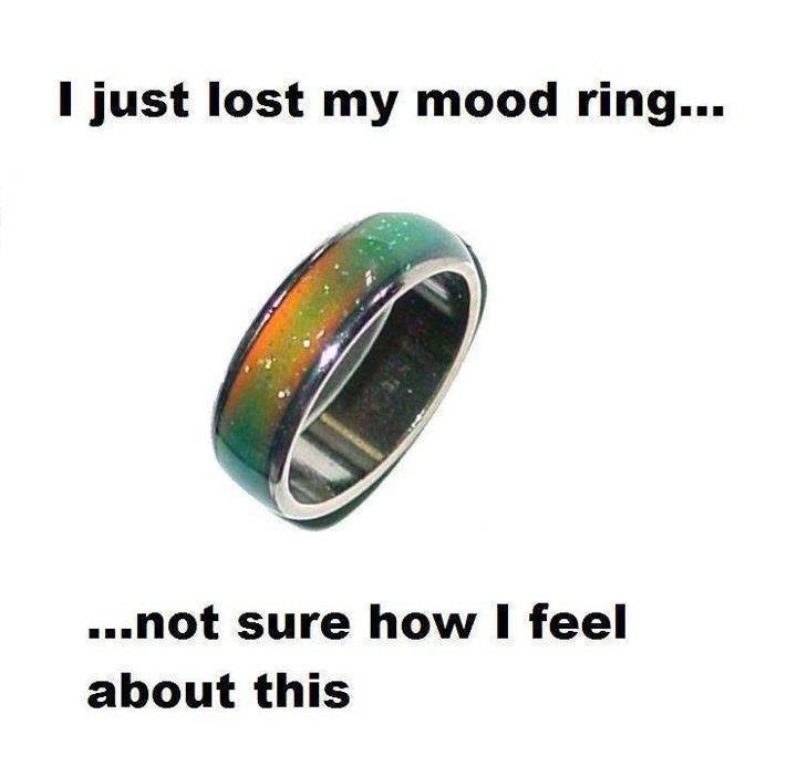 lost my mood ring
