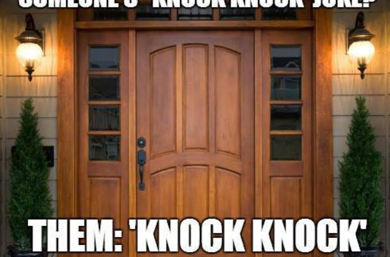 Knock Knock Funny Pictures Quotes Memes Funny Images Funny