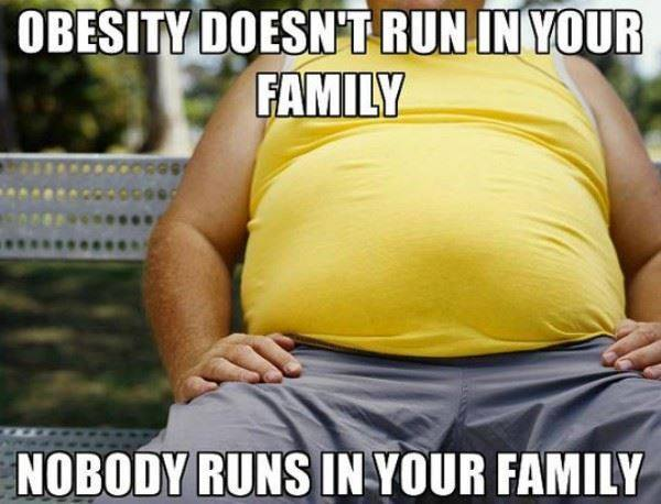 childhood obesity runs in the family There are many causes of obesity such as family history,  i've heard obesity runs in families,  who obesity reducing childhood obesity.