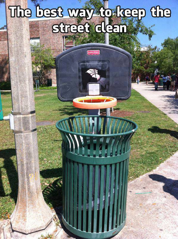 Best way to keep streets clean
