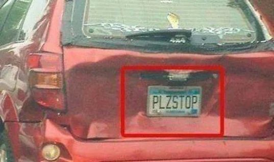 Funny Licence Plates