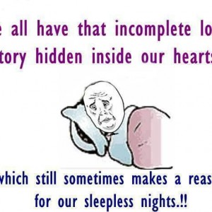 Incomplete Love Story