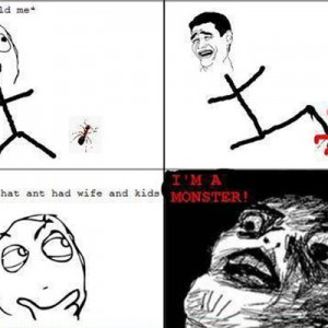 Stepping on Ants