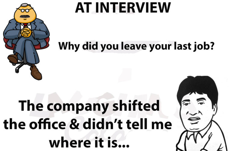 Why did you leave job