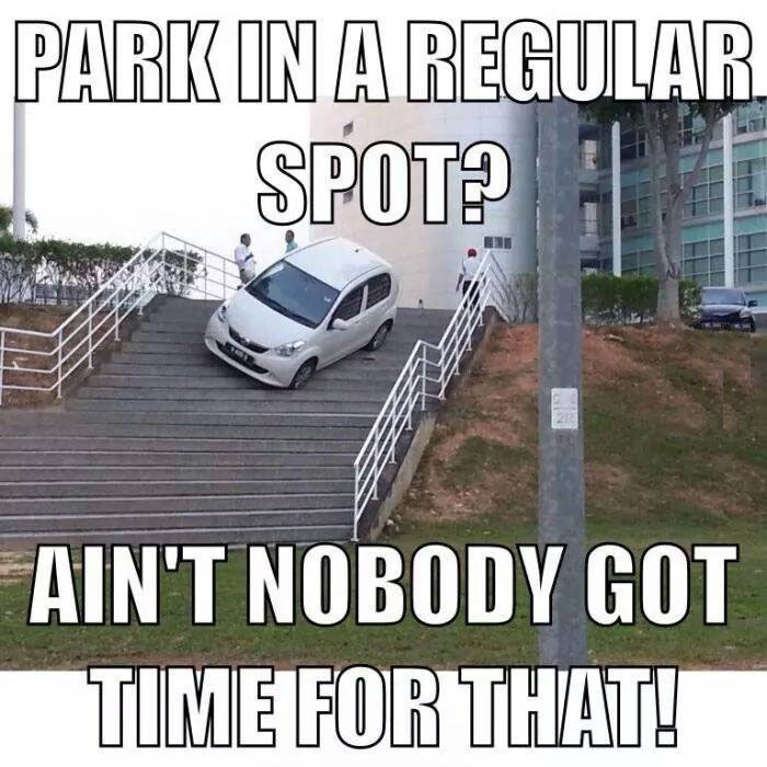 Car Parking Funny Pictures Quotes Memes Funny Images