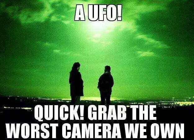 Look a UFO