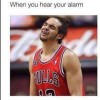 Hearing your alarm
