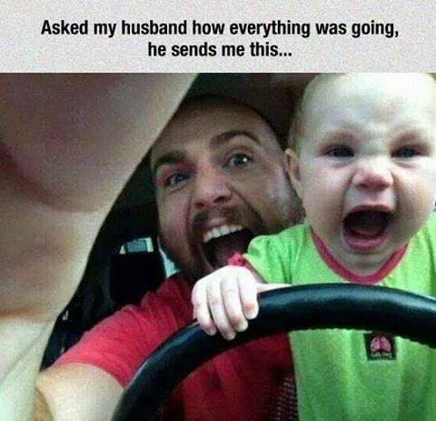 When dads are with kids