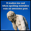 Getting Spelling correct