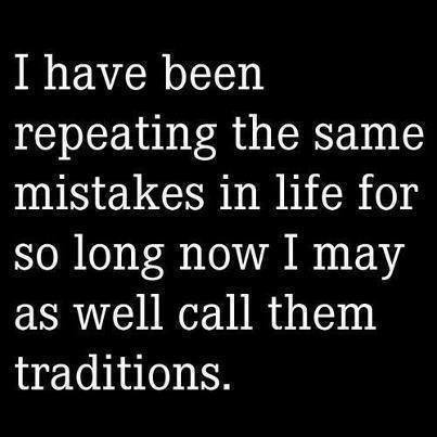 Repeating Mistakes