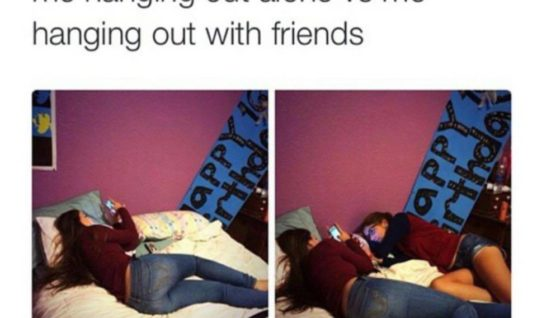 Alone Vs With Friends