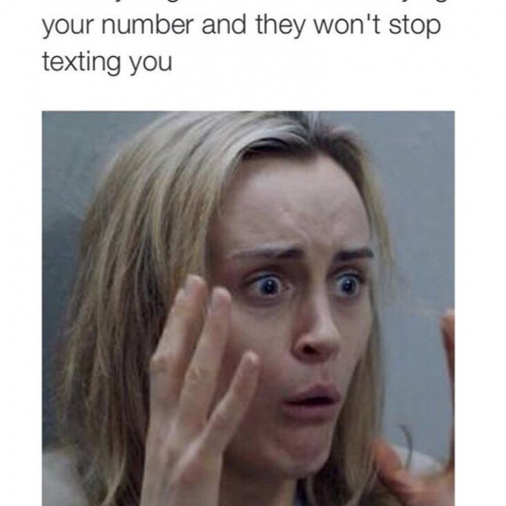 Stop Texting you