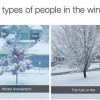 2 types of winter people