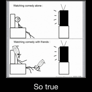Watching Comedy