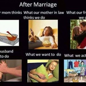 Girls after Marriage