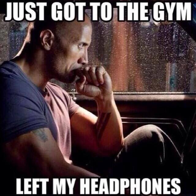 Just got to the Gym