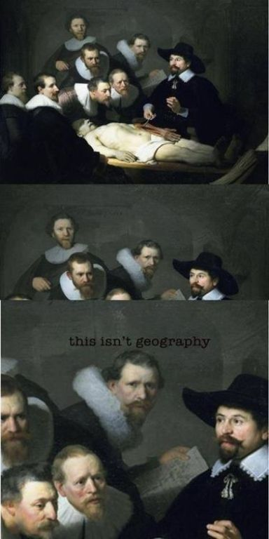 Not Geography