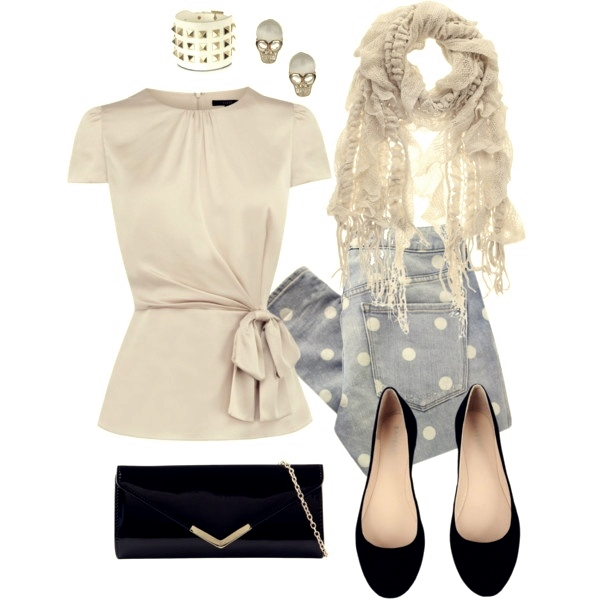 cute fashionable outfit