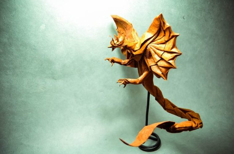 Amazing origami creations by Gonzalo Calvo