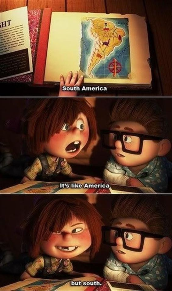 south america up movie funny pictures quotes memes jokes