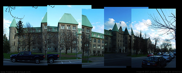 College de Valleyfield - mix of real photos