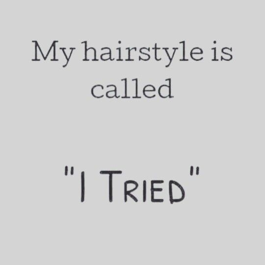 My Hairstyle Is