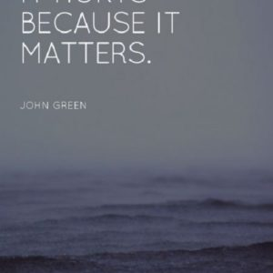 Because It Matters