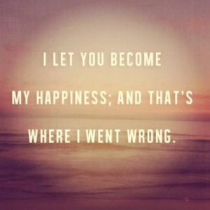 I Let You Become My Happiness