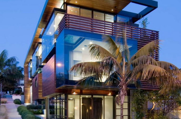 Ettley Residence: A Blend of Wood and Glass